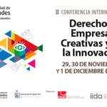 II conferencia derecho & empresas creativas y de la innovación